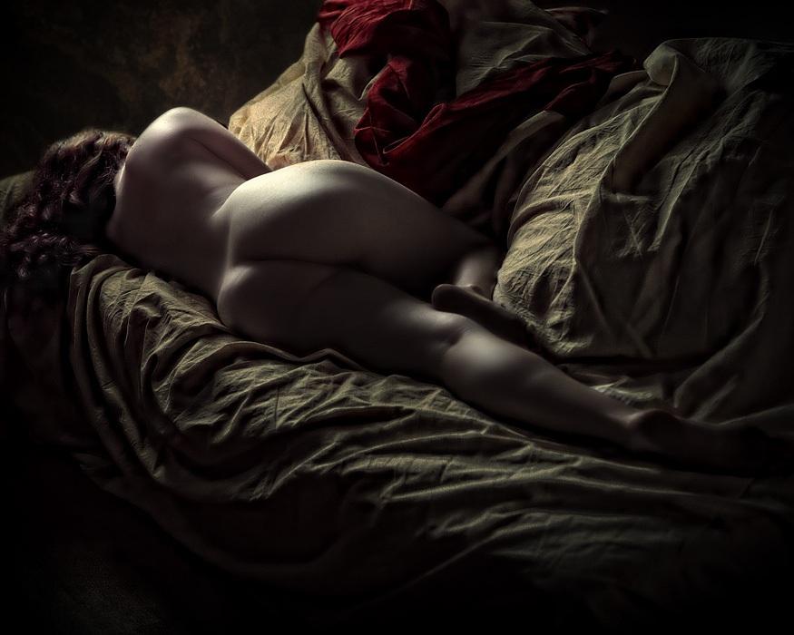 La rêveuse (Photo Michel Feugeas)