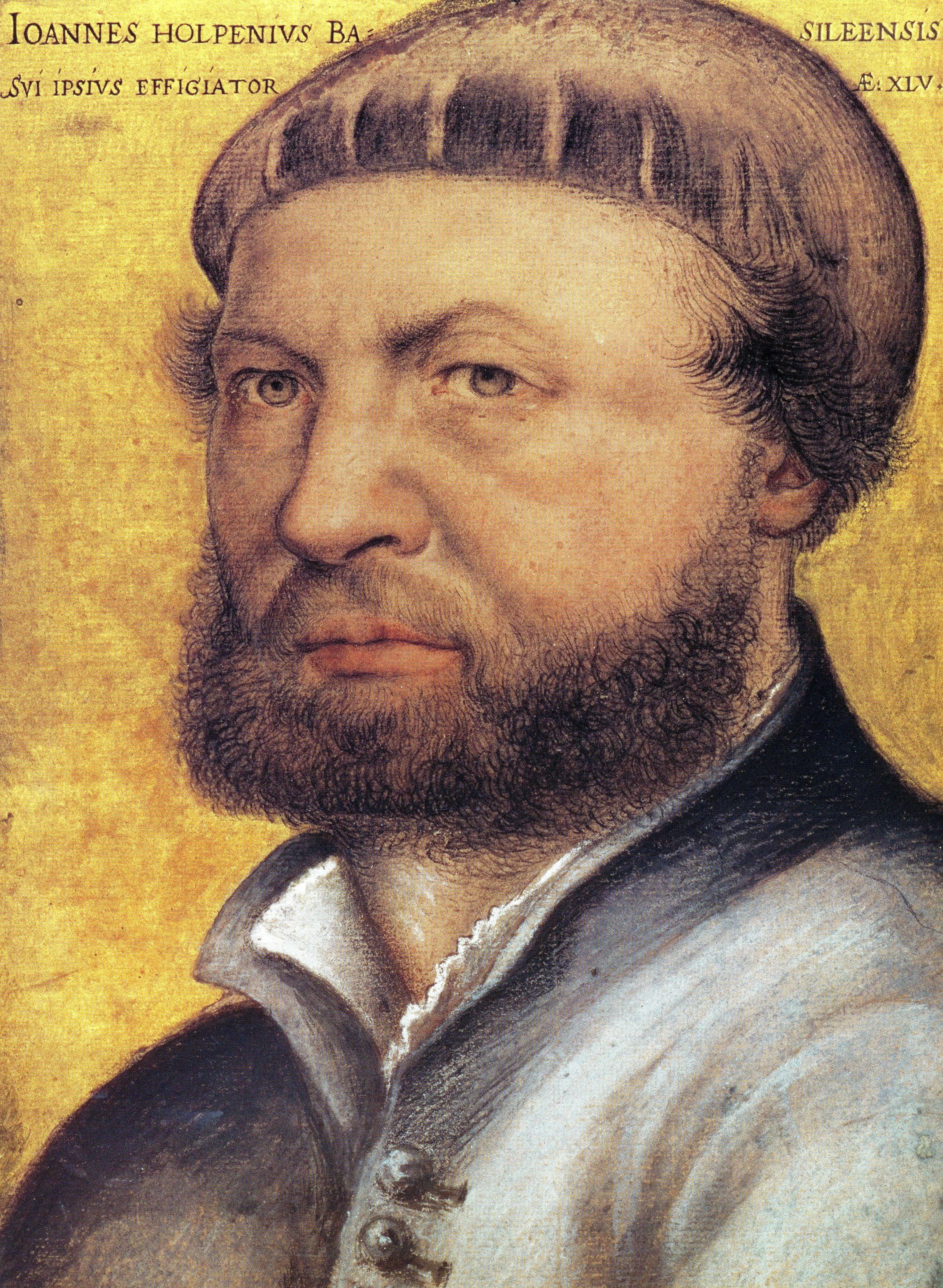 holbein-self-portrait-1542