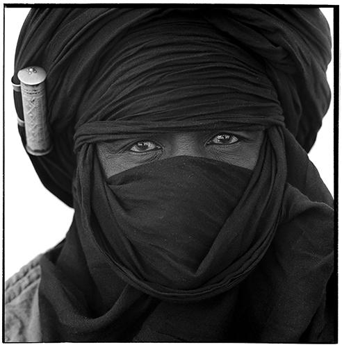 Extrait d' une sŽrie de portraits, Timia, Niger, 2001.